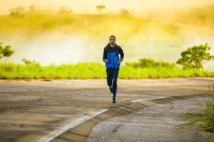 Image of man jogging