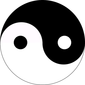 Acupuncture and Chinese medicine are rooted in the balance of Yin and Yang, commonly represented by this symbol.